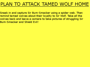 tamedwolfplans