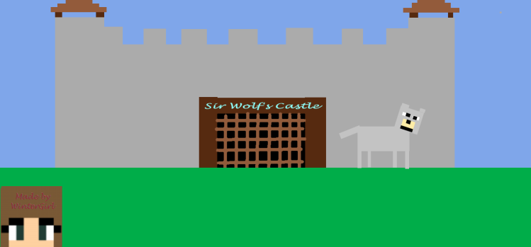 Sir Wolf's Castle in Paint 3D